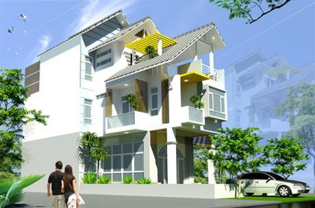 Trò chơi tạo hình trong thiết kế nhà phố | ảnh 1